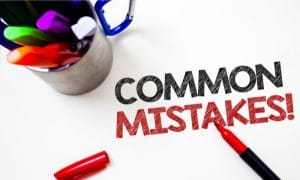 common massage interview mistakes