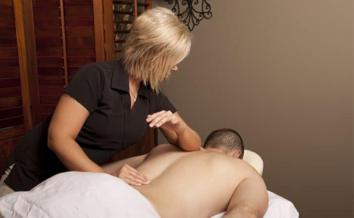 Massage job applicant practical massage interview