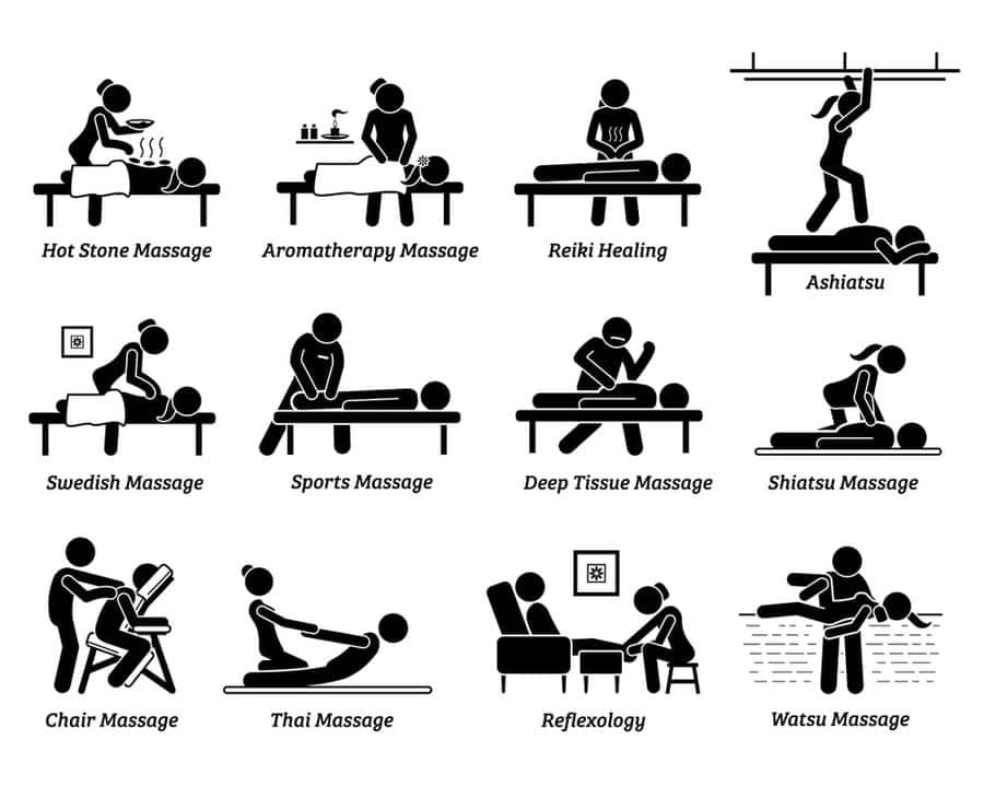 practice different massage styles