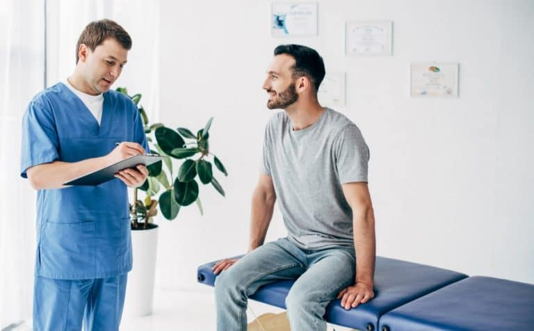 Talk to massage clients about medications